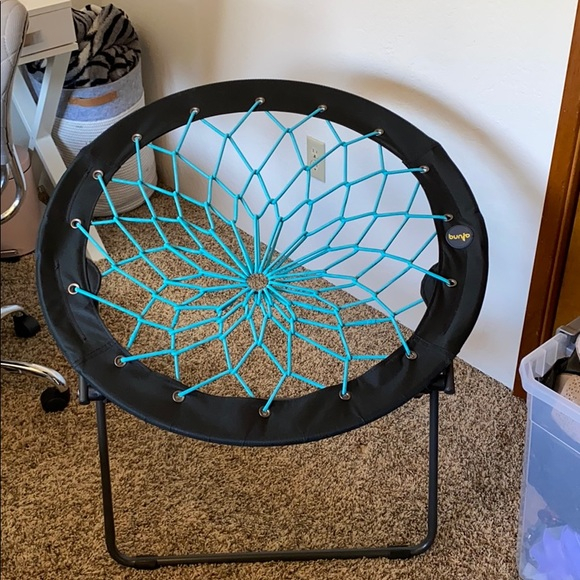 Teal bungee chair 2 years old but rarely used